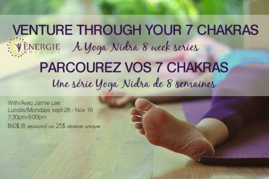 YOGA NIDRA Workshop Series On The Chakras With Jamie Lee